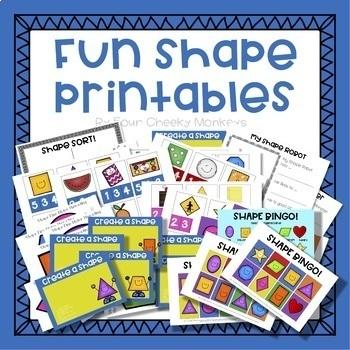 Fun shape activities for kids