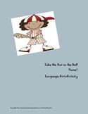 Fun song English Language Arts activity