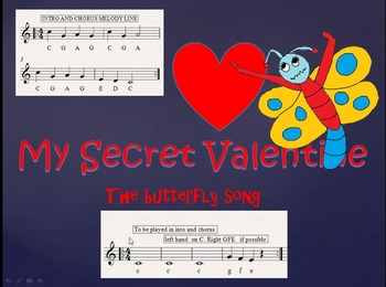 Fun song . The butterfly's Secret valentine.