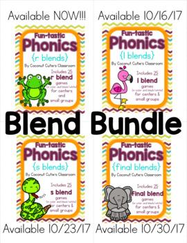 Fun-tastic Phonics {Blends Bundle}