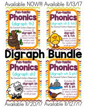 Fun-tastic Phonics {Digraphs Bundle}