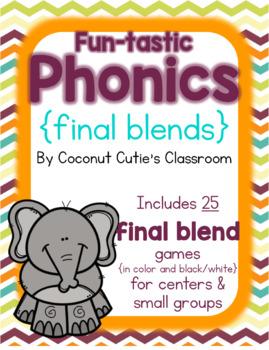 Fun-tastic Phonics {Final Blends}