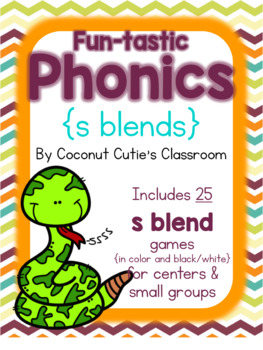 Fun-tastic Phonics {S Blends}