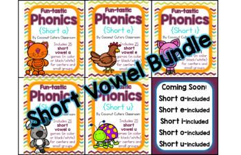 Fun-tastic Phonics {Short Vowel BUNDLE}