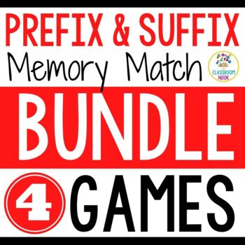 Prefix and Suffix {Match-Up} BUNDLE