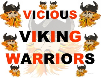 FREE - Tongue Twister - Viking Warriors