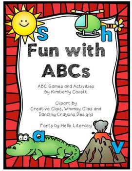 Fun with ABCs: K/1 Alphabet Activities