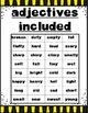Fun with Adjectives: BINGO, ELL Friendly