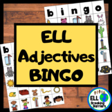 Fun with Adjectives: BINGO, ELL Friendly