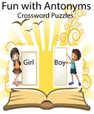 Fun with Antonyms Crossword Puzzles