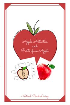 graphic regarding Parts of an Apple Printable referred to as Apple Functions and Sections of an Apple