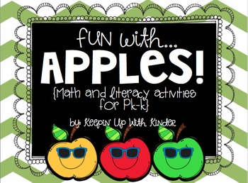 Fun with Apples! {Math and Literacy Unit}