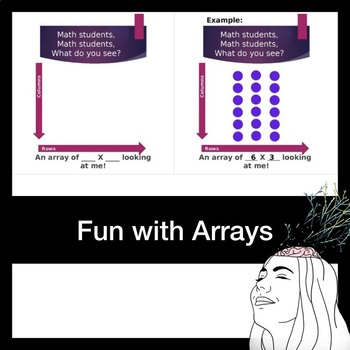 Fun with Arrays: Math Students, Math Students, What Do You See?
