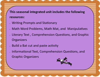 Fun with Batty: An Integrated Unit for October: K-1