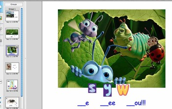 Fun with Beginning Sounds! Lesson 2  Kindergarten SMARTBoard lesson