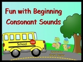 Beginning Sounds (SMARTBoard Lesson)