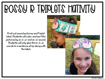 Fun with the Bossy R Triplets (r controlled vowels er, ir, and ur)