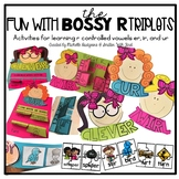 Fun with 'Bossy R' {word sorts, centers, and craftivities