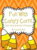 Fun with Candy Corn! {Math & ELA Activities & Printables}