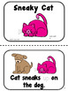 Fun with Cat! Sight Word Booklets