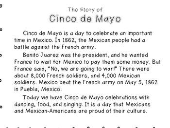 Cinco de Mayo Writing and More!