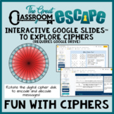 Fun with Ciphers Digital Cipher Wheel, Pigpen Cipher, and Caesar Shift Cipher