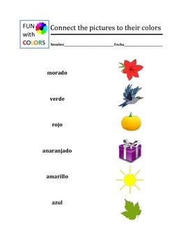 Fun with Colors in English and Spanish