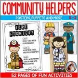 COMMUNITY HELPERS BAG PUPPETS AND MORE