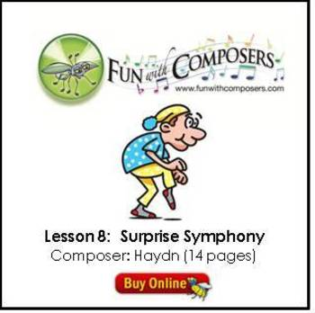 Fun with Composers - Surprise Symphony (Composer: Haydn) Lesson Plan