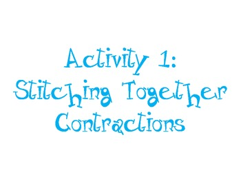 Fun with Contractions