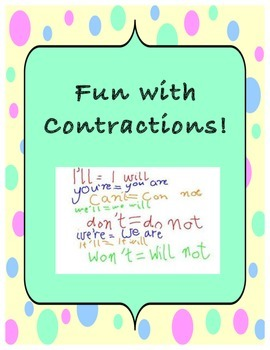 Fun with Contractions!