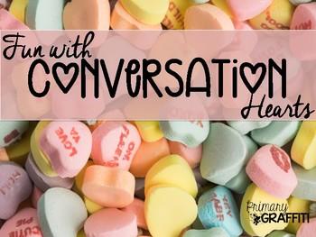 Fun with Conversation Hearts {Mini Book}
