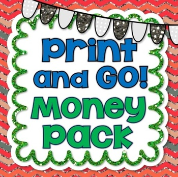 No Prep Money Printables