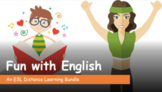 ESL Distance Learning Lesson Pack - Fun with English