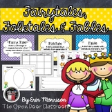 Fun with Fairy Tales, Folktales, and Fables! {A Common Core Aligned Unit}