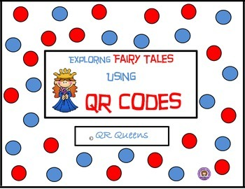 Fun with Fairy Tales Listening Center using QR Codes