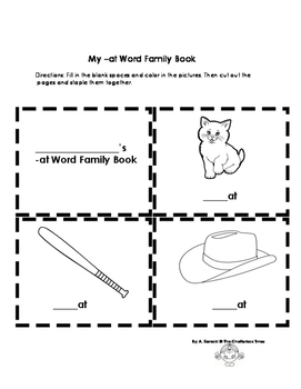 Fun with Families! { -At Word Family }