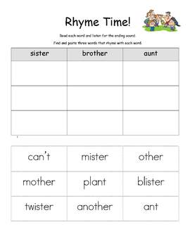 Fun with Family Activity Packet