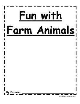 Fun with Farm Animals Booklet