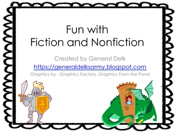 Fun with Fiction and Nonfiction