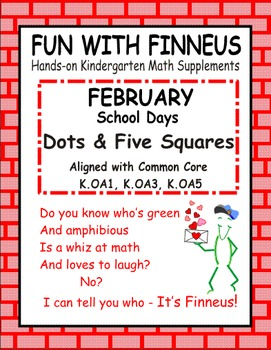 Fun with Finneus February Dots and Five Squares