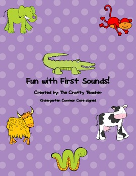 Fun with First Sounds!