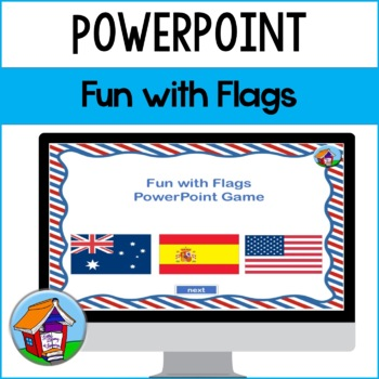 fun with flags powerpoint game by little library of learning tpt