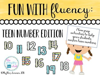 Fun with Flunecy: Teen Numbers Edition