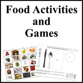 Food Bingo Game and Activities- Cooking with Kids