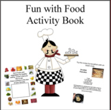 Fun with Food Coloring Activity Book
