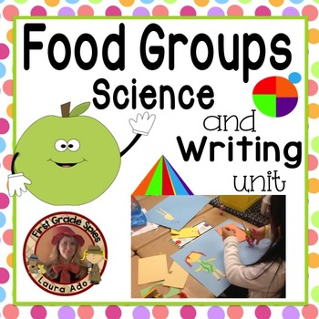 Fun with Food Groups & My Plate Science and Writing Unit