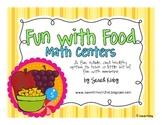 Fun with Food Math Activities