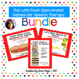 Fun with Food: Open-ended Games for Speech Therapy