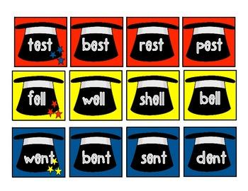 Fun with Foundational Skills:  Magic Word Sort